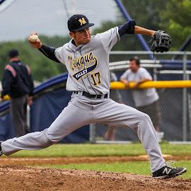 High school Varsity sectionals  by Gary Duncan - Sports & Fitness Baseball ( highschool, baseball, varsity, playoffs, sectionals )
