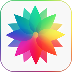 Photo gallery with iOS 9 style