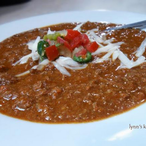 Lean and low sodium Chili