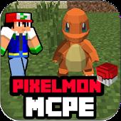 Game Pixelmon MOD MCPE 0.14.0 apk for kindle fire