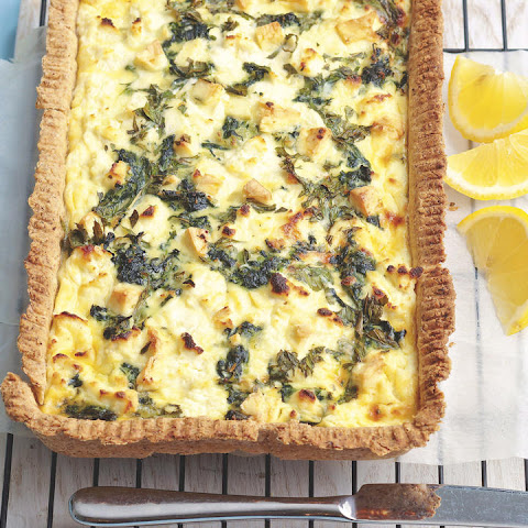 Spinach, Ricotta and Feta Tart