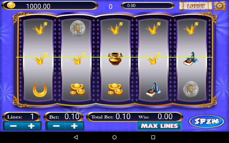android Olympus Doubledown Slot Screenshot 3