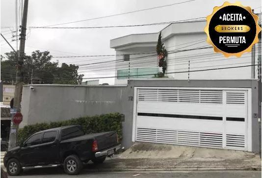 Sobrado com 3 dormitórios à venda, 140 m² por R$ 905.000 - Vila Alice - Santo André/SP