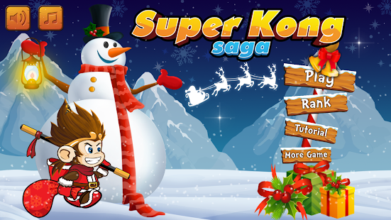 Christmas Kong - screenshot