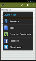 Screenshot of Easy Notes