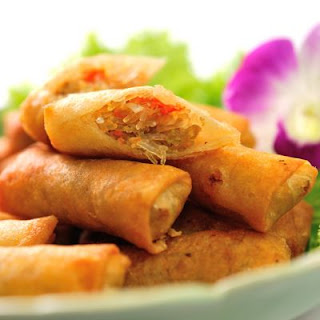Veggie-Stuffed Egg Rolls