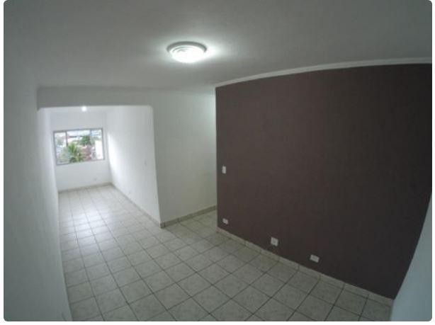 Apartamento com 2 dormitórios para alugar, 60 m² por R$ 1.500/mês - Parque São Vicente - São Vicente/SP
