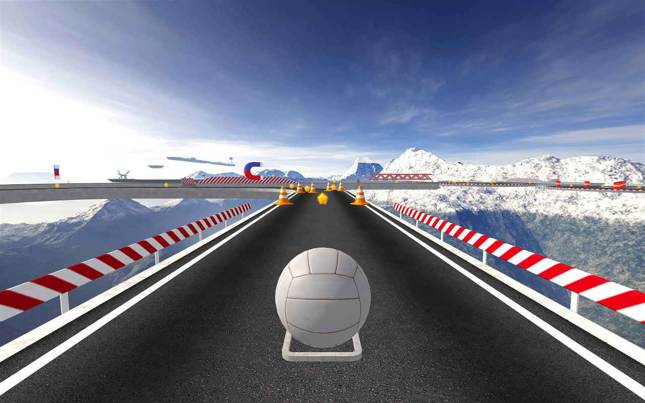 BasketRoll 3D: Rolling Ball Screenshot 3