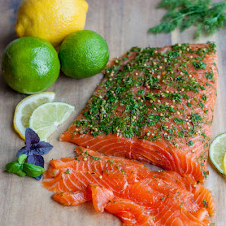 Salmon Gravlax Vodka Recipes