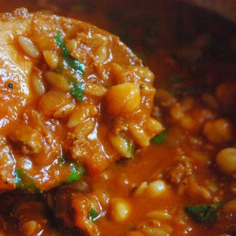 Chicken and Chickpea Chili