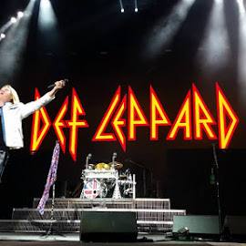 Def Leppard by Vicki Brown - People Musicians & Entertainers