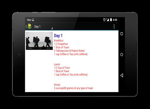 Military Diet Premium - screenshot