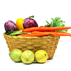 Vegetables by Dipali S - Food & Drink Fruits & Vegetables ( peppers, lemons, healthful, diet, appetizing, capsicum, eggplant, delicious, health, edible, nutrition, tasty, nature, fresh, brinjal, food, antioxidant, healthy, ingredient, vegetarian, striped, carrots, eat, freshness, harvest, vegetable, natural )