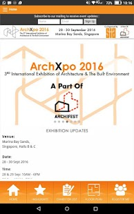 ArchXpo - screenshot