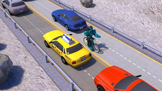 Game Robot Bicycle Traffic Rider APK for Kindle