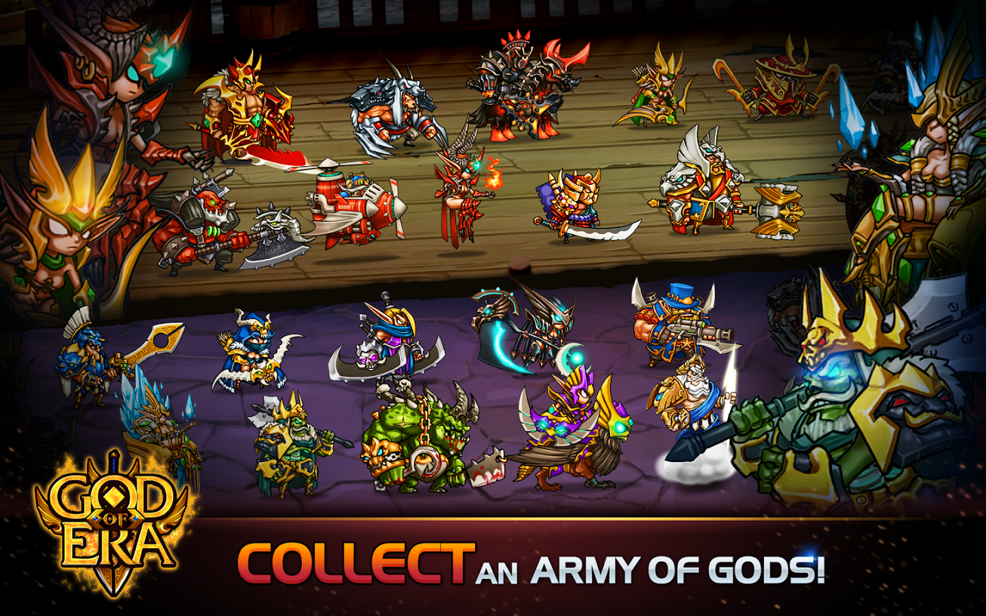 God of Era: Heroes War (GoE) Screenshot 17