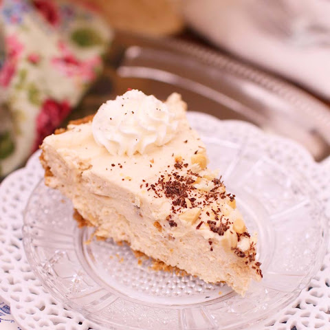 Peanut Butter Marshmallow Cream Pie