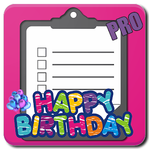 Birthday Party Checklist (PRO) For PC / Windows 7/8/10 / Mac – Free Download