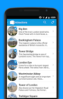 Screenshot of Tripomatic Trip Planner