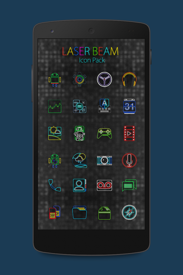 Laser Beam Icon Pack Screenshot 3