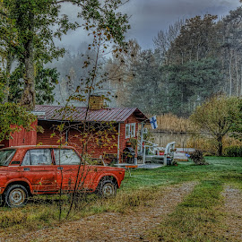 LaDa by Bojan Bilas - Buildings & Architecture Homes ( hdr, autumn, lada, finland, neighbourhood )