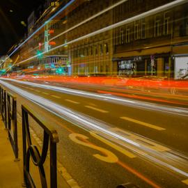 by Dragan Rakocevic - City,  Street & Park  Night