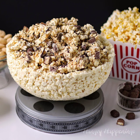 White Chocolate Popcorn Bowl