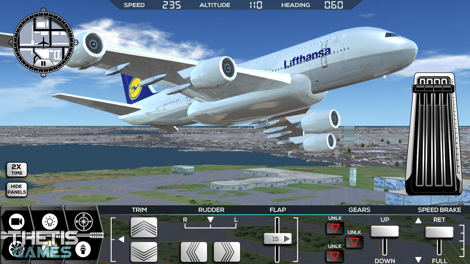 Flight Simulator FlyWings 2017 Screenshot 8
