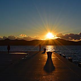 Pozdrav suncu by Jelena Puškarić - Landscapes Sunsets & Sunrises ( sunsets, sea, seascape, sunrise,  )
