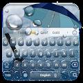Raindrops keyboard