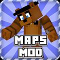 Maps + Mod Fnaf for Minecraft APK for Bluestacks