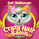 Crazy Hair Salon Cat Makeover