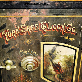 Safe by Roxanne Dean - Artistic Objects Antiques ( safe, pa, york, steel, objects, antiques )
