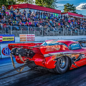 Pro Mod by Gary Wells - Transportation Automobiles ( drag racing, automobile, race )