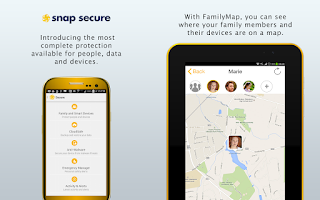 Screenshot of Snap Secure