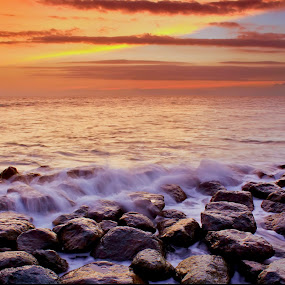 Golden Hour by Dede GreenHolic - Landscapes Waterscapes