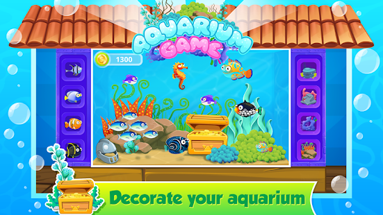 My fish tank aquarium games apk free casual apps for android for Fish tank game