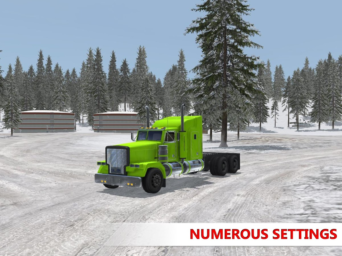 Arctic Trucker Simulator Screenshot 9