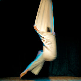 Dance Moves by David Stone - People Musicians & Entertainers ( hand, aerial dance, movement, square image, motion, dance )