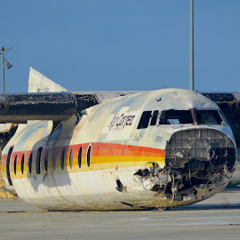 Air Cotez Now Boarding by Rob Kovacs - Transportation Airplanes