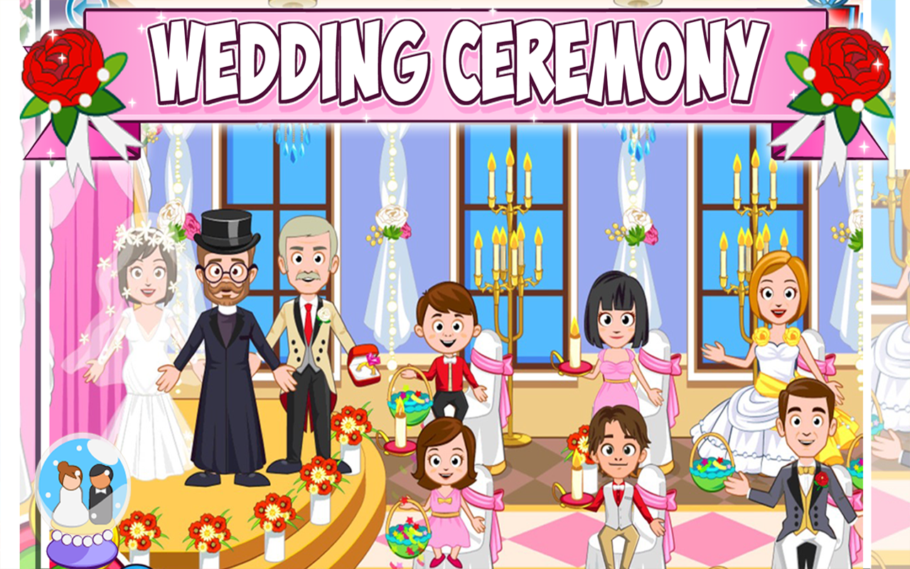 My Town : Wedding Screenshot 2