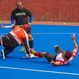 My Hockey keeper by Syahrul Nizam Abdullah - Sports & Fitness Other Sports