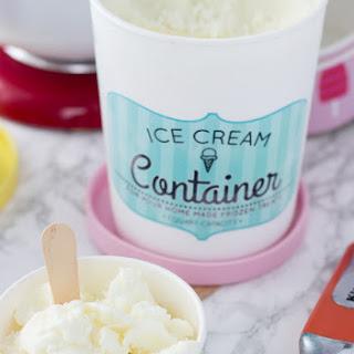 White Chocolate Frozen Yogurt Recipes