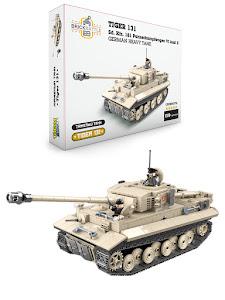 """Конструктор серии """"Brick Battle"""", тяжелый танк Tiger 131"""
