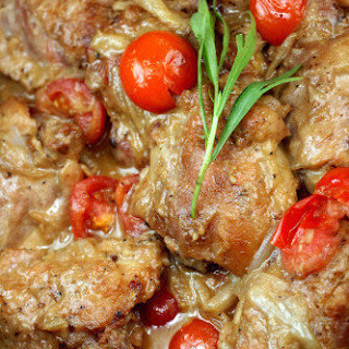 Braised Chicken With Shallots And Tomatoes Recipes