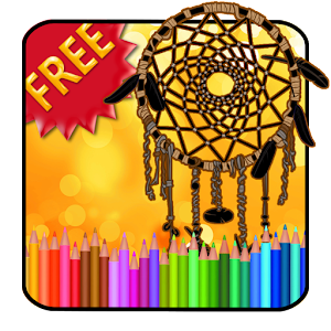 Adult Coloring Dreamcatcher