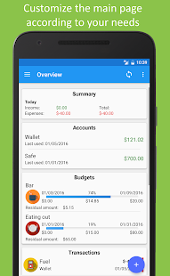Fast Budget - Expense Manager screenshot for Android