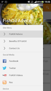 FishOil Advice - screenshot