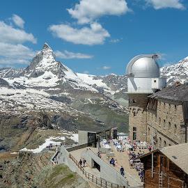 The Matterhorn by Lee Davenport - City,  Street & Park  Vistas