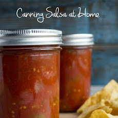 Salsa- for Canning